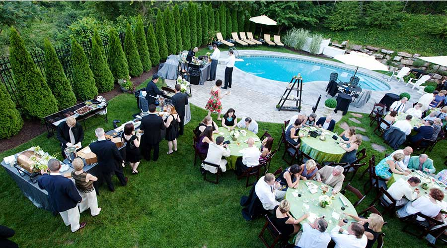Summer Party Guests In Harrisburg