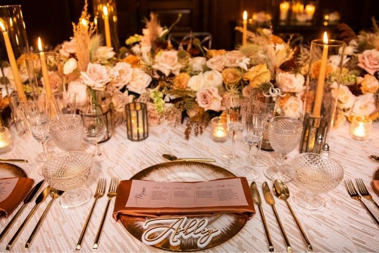 4 Ways to Take Your Event to the Next Level - Namcecard place settings