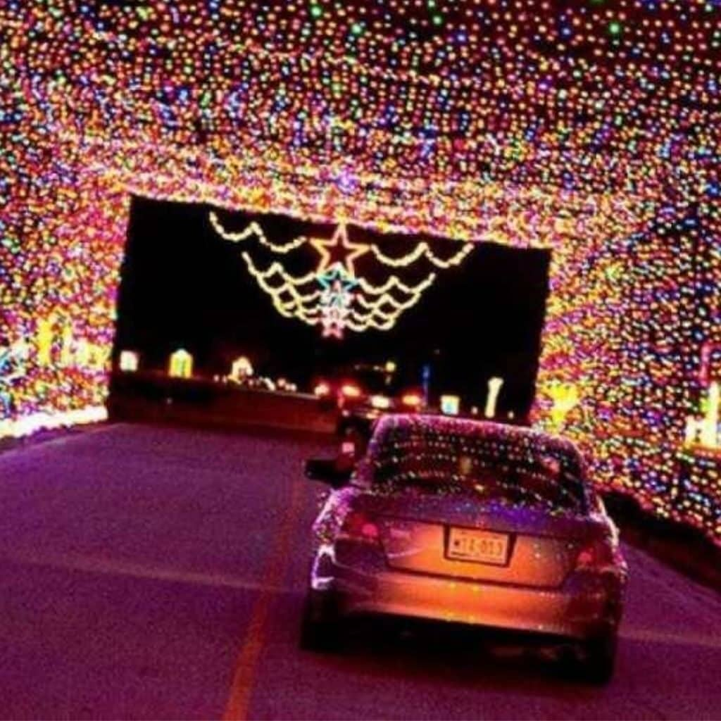 drive-through-event-car-driving-through-light-show-the-jdk-group-harrisburg-lancaster-york-pa-best-caterer