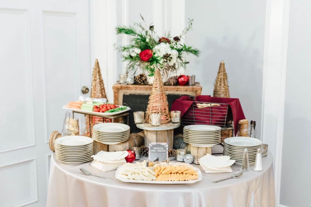Holiday Catering and Design - Menu