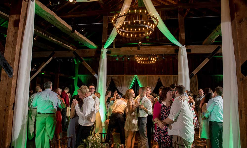 Lancaster Rustic Wedding dancing
