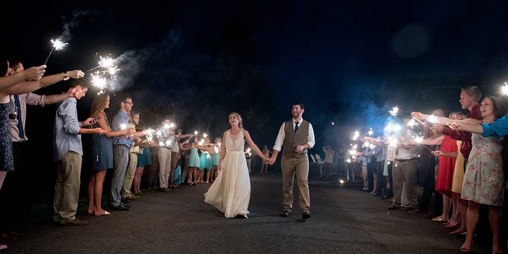 Lancaster Rustic Wedding farewell