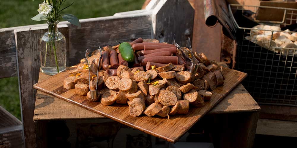 Lancaster Rustic Wedding meat tray