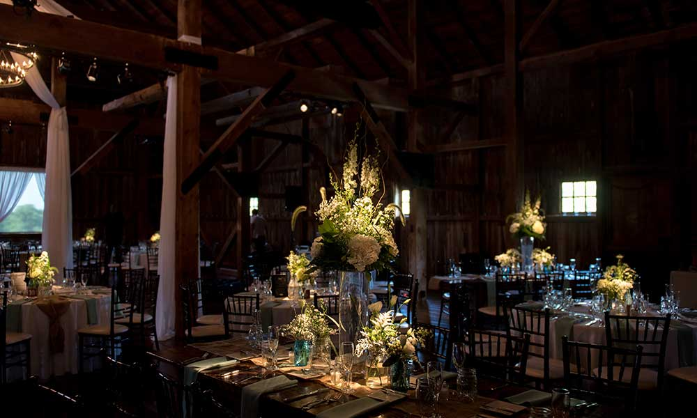 Lancaster Rustic Wedding reception