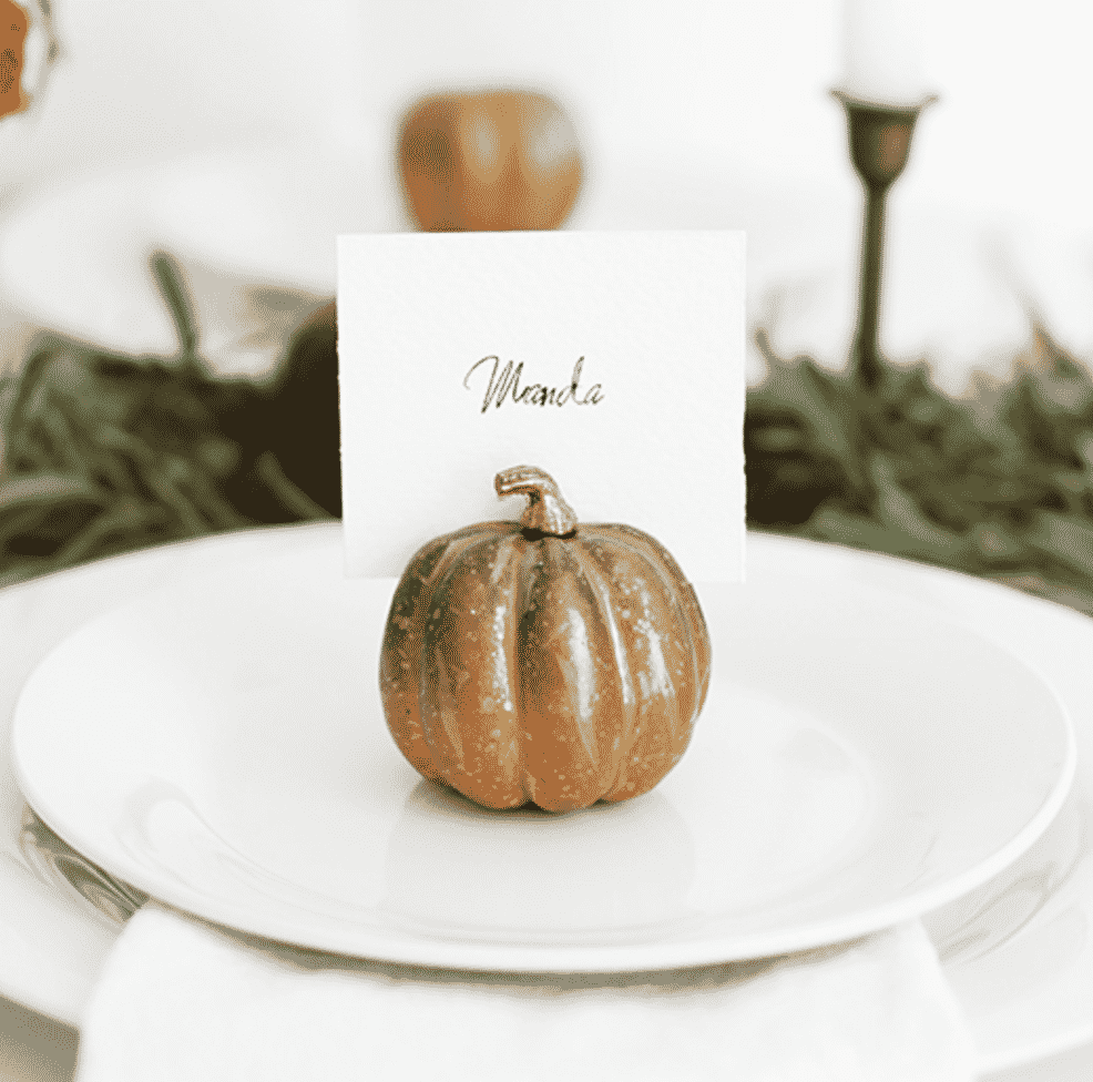 Thanksgiving decorating tips