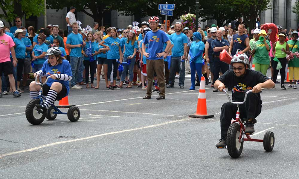 United Way Trike Race start