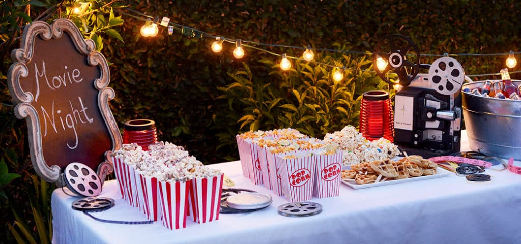 corporate-summer-party-ideas-movie-night