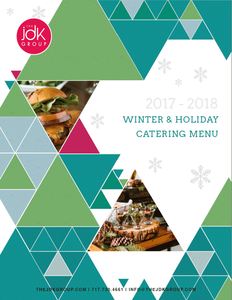 The JDK Group - 2017 - 2018 Winter & Holiday Catering